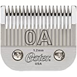 Oster clipper blade size OA