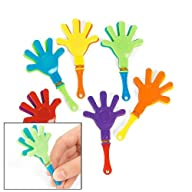 Fun Express Mini Hand Clappers (4 Dozen)