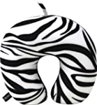 Luxury Travel Pillow (Zebra)