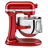 KitchenAid KSM7586PCA 7-Quart  Pro Line Stand Mixer Candy Apple Red
