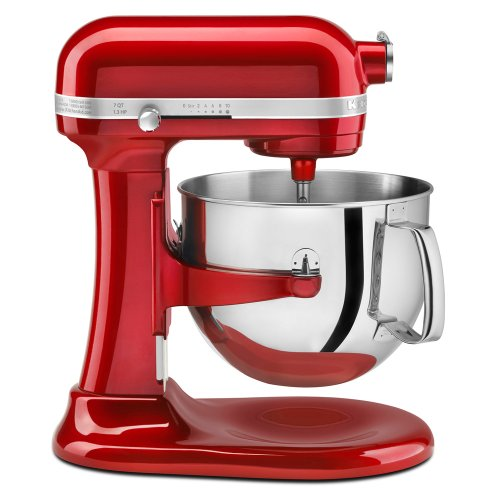 KitchenAid Pro Line Candy-Red Stand Mixer KSM7586PCA , 7 qt.