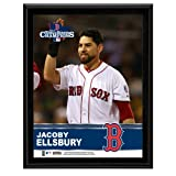 Jacoby Ellsbury Boston Red Sox 2013 MLB World Series Champions 10'' x 13'' Sublimated Player Plaque