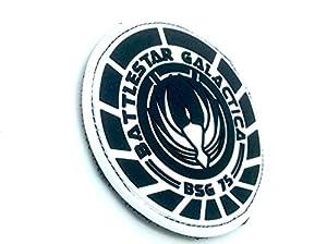 Battlestar Galactica BSG 75 Officer PVC Airsoft Velcro Patch