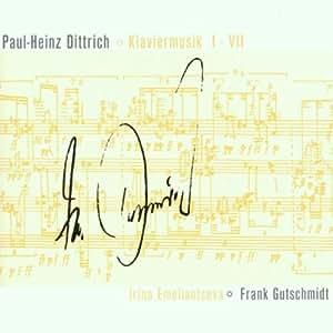 Dittrich: Klaviermusik I-VII