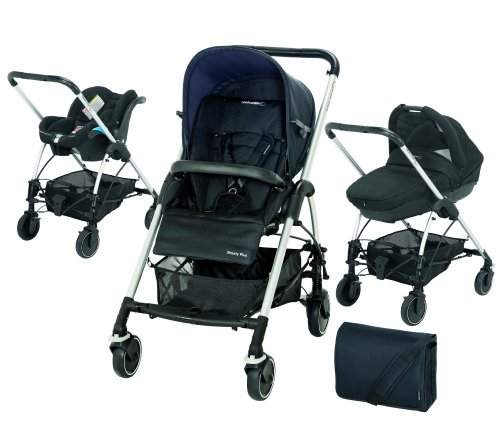 Bébé Confort - Passeggino trio Modulare Streety Plus, Total Black