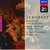 Schubert: Music for Violin & Piano; Arpeggione Sonata (2 CDs)