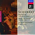 Schubert: Music for Violin & Piano; Arpeggione Sonata (2 CDs)