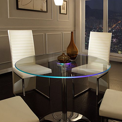 Home Creek Elysium LED Dining Table (Round Dining Table Set For 4 compare prices)