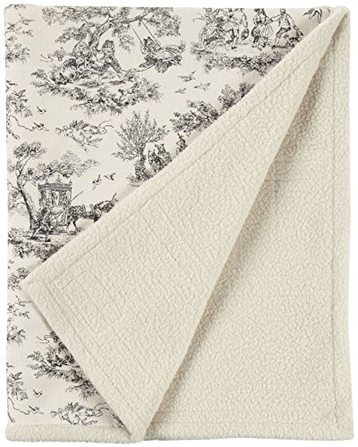Harry Barker Toile Blanket - Black - Small