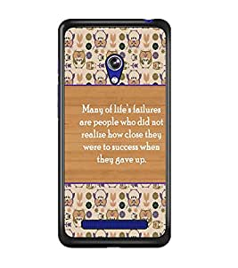 PrintDhaba Quote D-3174 Back Case Cover for ASUS ZENFONE 5 A501CG (Multi-Coloured)