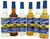 Torani Sugar Free Holiday Variety Pack, 152-Ounce