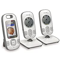 Vtech Safe & Sound Video Baby Monitor with Automatic IR Night Vision from VTech Communications