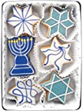 Beautiful Sweets Hanukkah Stars Organic Cookies, 4 Cookies