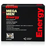 GNC Mega Men Energy Vitapak, 30 Packs