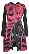 Agan Traders Womens Patch Razor Cut Embroidered Funky Boho