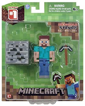 Minecraft Core Steve Action Figure with Accessory by Minecraft