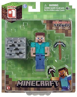 Minecraft 3-inch Steve Action Figure