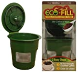 Eco-Fill Reusable Coffee Filter for Single Serve K-Cup Coffee Brewers