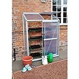 Lean-To Aluminium Greenhouse