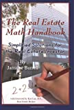 img - for The Real Estate Math Handbook: Simplified Solutions for the Real Estate Investor [Paperback] [FL] (Author) Jamaine Burrell book / textbook / text book