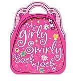 My Girly Swirly Sticker Backpack
