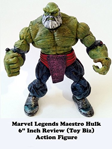 "Marvel Legends MAESTRO HULK Review 6"" inch (Toy Biz) action figure"