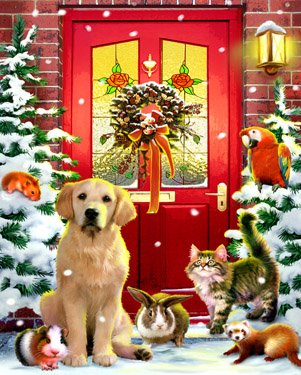 Christmas Welcome Jigsaw Puzzle