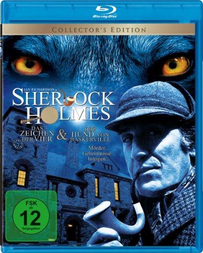 Sherlock Holmes - Der Hund von Baskerville/Das Zeichen der Vier [Blu-ray] [Collector's Edition]