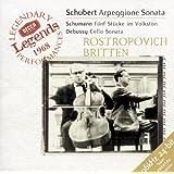 Schubert: Arpeggione Sonata / Schumann: 5 Stücke in Volkston / Debussy: Cello Sonata