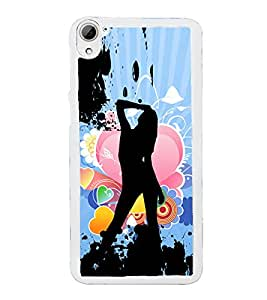 ifasho Designer Phone Back Case Cover HTC Desire 826 :: HTC Desire 826 Dual Sim ( Cheetah 4 Eyes Angry Face )