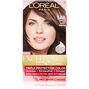 L39Oreal Paris Excellence Creme Triple Protection Color Crme  Mocha Ash
