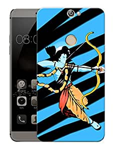 """Ram Abstract Art Hindu GodPrinted Designer Mobile Back Cover For """"Coolpad Max"""" (3D, Matte, Premium Quality Snap On Case)"""