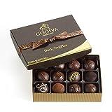 Godiva Chocolatier Dark Chocolate Truffles, 12 Count
