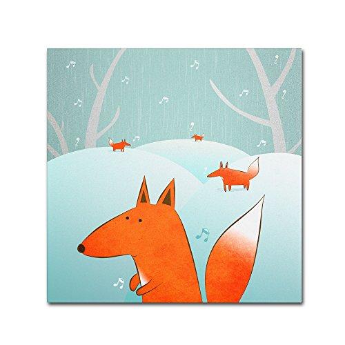 trademark-fine-art-winter-foxes-artwork-by-carla-martell-14-by-14-inch