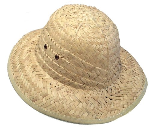 Pith Helmets Natural Color 1 pc - 1