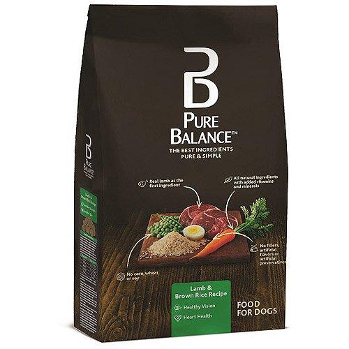 Pet Dog Food, Lamb & Brown Rice, 5 Lb, Calcium Carbonate, Natural Flavor