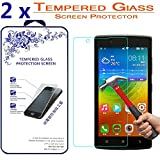 [2-Pack] Lenovo A2010 Tempered Glas