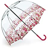 Fulton Birdcage-2 Floral Border Dome Shape Umbrella