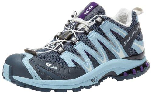 SALOMON - TRAIL RUNNING - XA PRO 3D ULTRA 2 W - grey denim/water vapour/grape juice - TAGLIA 38 2/3 EU - cm 24