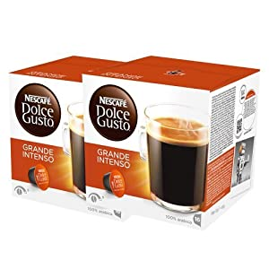 Shop for Nescafé Dolce Gusto Caffè Grande Intenso, Pack of 2, 2 x 16 Capsules (16 Servings) from Nestlé