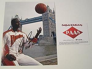 Hakeem Olajuwon Houston Rockets Signed Autographed Photo Authentic Certified Coa