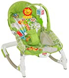 #1: Fisher-Price Newborn To Toddler Rocker Worldwide + Diaper Bag