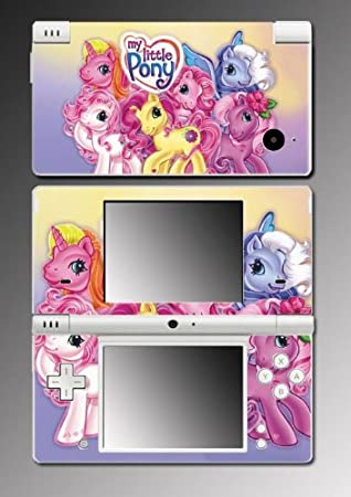 My Little Pony Friendship is Magic Fluttershy Princess Brony Video Game Vinyl Decal Cover Mod Skin Protector for Nintendo DSi