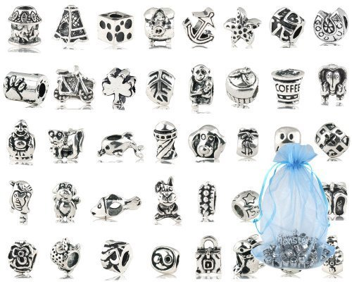 pack-of-40-pc-approx-antique-silver-plated-oxidized-metal-beads-charms-set-mix-lot-compatible-bracel