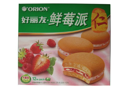 Orion - Fresh Strawberry Pie Cake (12Pc)