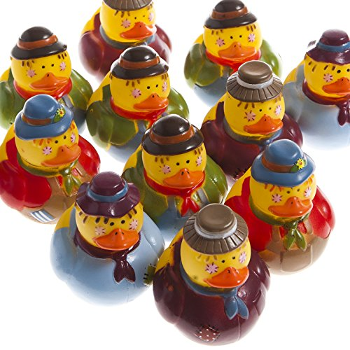 Scarecrow Rubber Ducks