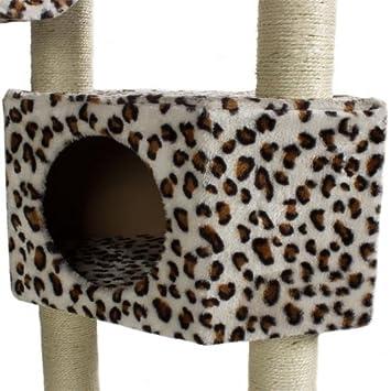 Happypet cat008 arbre chat griffoir grattoir 230 - Chat type leopard ...