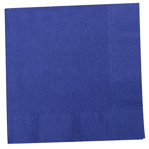 Royal Blue Beverage Napkins