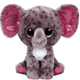 Ty Inc Beanie Boo Plush Stuffed Animal Specks Grey Elephant