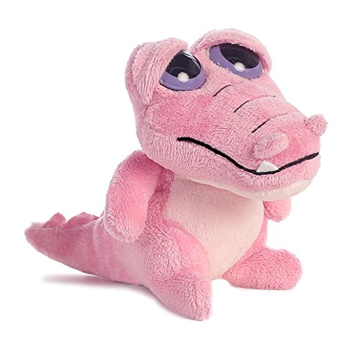 Aurora World Dreamy Eyes Pink Gator with Magical Sound Plush